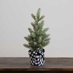 New!Black Buffalo Check Pine Christmas Tree   Kirkland's Home