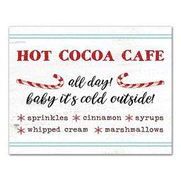 Hot Cocoa Cafe Canvas Art Print   Kirkland's Home