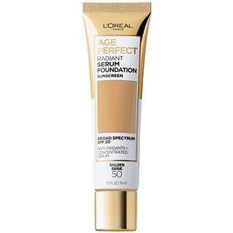 L'Oreal Paris Age Perfect Radiant Serum Foundation with SPF 50, Golden Beige, 1 fl. oz.   Walmart (US)