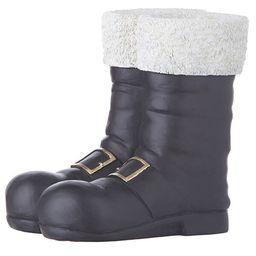 Black Santa Boots Container   Wayfair North America