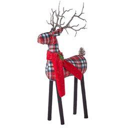 Plaid Deer   Wayfair North America