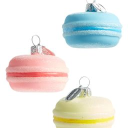 Set of 3 Glass Macaron Ornaments | Nordstrom