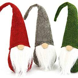 FUTUREPLUSX Easter Gnome Plush, 3PCS Swedish Gnome Handmade Birthday Gnome Scandinavian Tomte | Amazon (US)