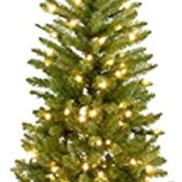 National Tree Company Pre-lit Artificial Christmas Tree | Includes Pre-strung White Lights and St... | Amazon (US)