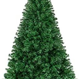 Best Choice Products 6ft Hinged Artificial Christmas Pine Tree Holiday Decoration w/Metal Stand, ... | Amazon (US)