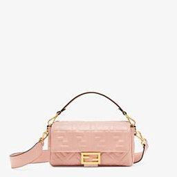Pink nappa leather bag - BAGUETTE | Fendi | Fendi Online Store | Fendi