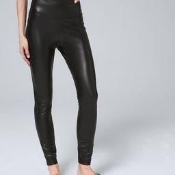 Faux Leather WHBM Runway Leggings | White House Black Market
