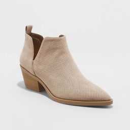 Women's Cari Cut Out Ankle Bootie - Universal Thread™ | Target