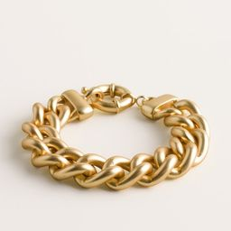 Goldtone Chain-Link Cuff Bracelet | Chico's