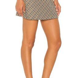 Kensington Skater Mini Skirt in Multi | Revolve Clothing (Global)