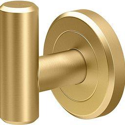 Gatco 4235 Latitude II Single Robe Hook, Brushed Brass | Amazon (US)