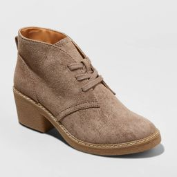 Women's Lucia Heeled Lace Up Bootie - Universal Thread™ | Target