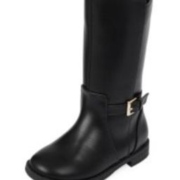 Toddler Girls Faux Leather Tall Riding Boots | The Children's Place