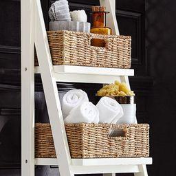 Ainsley Bath Ladder Storage Baskets, Set of 4 | Pottery Barn (US)