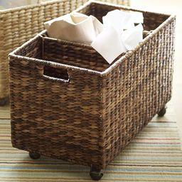 Seagrass Sorting Basket, Havana | Pottery Barn (US)