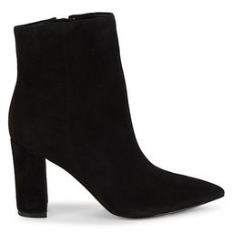 Ulani Suede Heeled Booties | Saks Fifth Avenue OFF 5TH