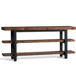 """Griffin 70"""""""" Reclaimed Wood Media Console 
