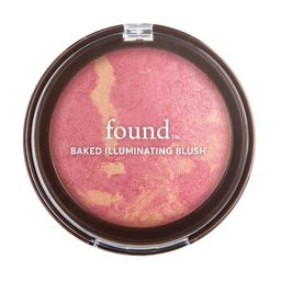 found Baked Illuminating Blush With Rosehip Oil, 70 Pink Glow, 0.24 fl oz | Walmart (US)