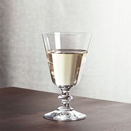 French Wine Glass + Reviews | Crate and Barrel | Crate & Barrel