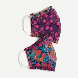 Pack of two nonmedical face masks in Liberty® florals | J.Crew US