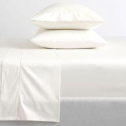 PB Organic 350-Thread-Count Sateen Sheet Set | Pottery Barn (US)