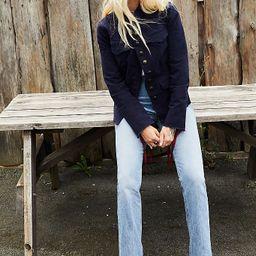 AGOLDE Vintage Hi-Rise Flare Jeans | Free People (US)