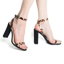 Qupid Women's Sandals CAMEL - Camel Leopard Bixby Ankle-Strap Sandal   Zulily