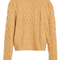 x Atlantic-Pacific Cable Knit Sweater   Nordstrom
