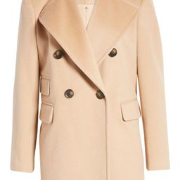 x Atlantic-Pacific Double Breasted Wool Blend Coat | Nordstrom