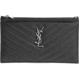 Monogram Matelassé Leather Pouch | Nordstrom