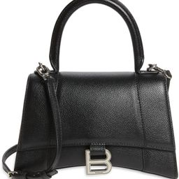 Small Hourglass Leather Shoulder Bag | Nordstrom