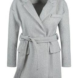 Belted Wool Look Blazer   Boohoo.com (US & CA)