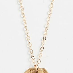 Heart Plate Necklace | Shopbop