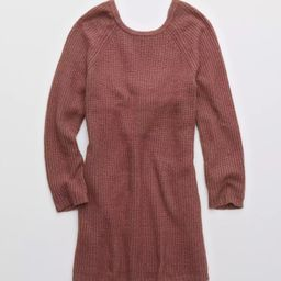 Aerie Twist Back Sweater Dress | American Eagle Outfitters (US & CA)