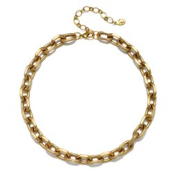 Camille Chain Choker Necklace | Sequin