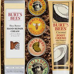 Burt's Bees Classics Gift Set, 6 Products in Giftable Tin – Cuticle Cream, Hand Salve, Lip Balm...   Amazon (US)