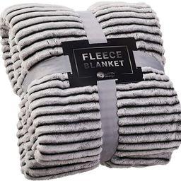 GREEN ORANGE Fleece Blanket Twin Size – 60x80, Lightweight, Black and White – Soft, Plush, Fl...   Amazon (US)