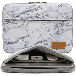 Canvaslife Marble Pattern 360 Degree Protective 14 inch Waterproof Laptop Sleeve case Bag with Po...   Amazon (US)