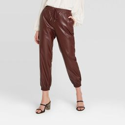 Women's High-Rise Ankle Length Jogger Pull On Pants - A New Day™ | Target