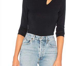 CMZ2005 Women's Cutout Neck Long Sleeves Slim Fit T Shirt Tops Cold Shoulder T-Shirt 71883   Amazon (US)