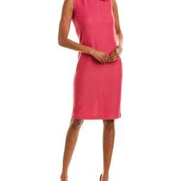 St. John Wool-Blend Sheath Dress | Ruelala