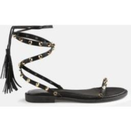 Black Lace Up Gladiator Sandals | Missguided (US & CA)