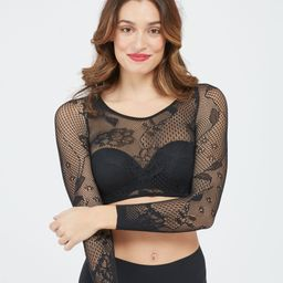 Spanx® Arm Tights™ Layering Piece, Fishnet Floral   Spanx
