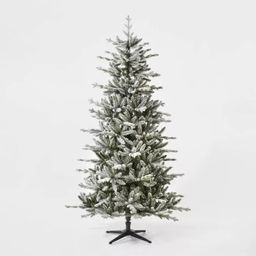 7ft Unlit Artificial Christmas Tree Flocked Balsam Fir - Wondershop™ | Target