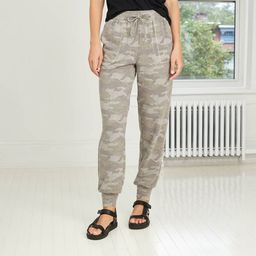 Women's Camo Print Jogger Pants - Knox Rose™ Camo | Target