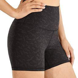 CRZ YOGA Naked Feeling High Waisted Workout Yoga Shorts for Women Athletic Running Volleyball Sho...   Amazon (US)