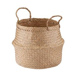 Seagrass Belly Basket | The Container Store