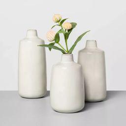 Ceramic Bud Vase Sour Cream - Hearth & Hand™ with Magnolia | Target
