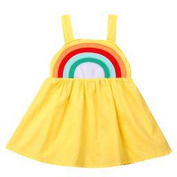 Lookwoild Toddler Kid Baby Girl Rainbow Casual Summer Dress Sundress Clothes 0-5T | Walmart (US)