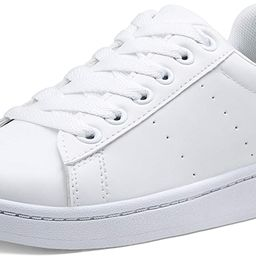 VEPOSE Women's Sneakers Fashion Casual Classic Lace up Lightweight Dress White Sneakers for Women   Amazon (US)